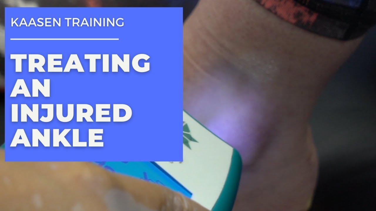 Kaasen Training - Treating an Injured Ankle