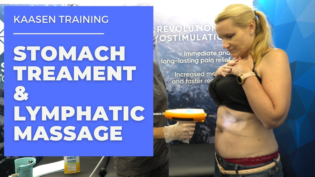 Kaasen Training - Stomach Treatment and Lymphatic Massage