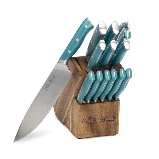 14-Piece Signature Kitchen Knife Block Set