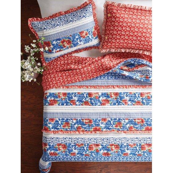 Heritage Floral Sham Set, 2 Pack