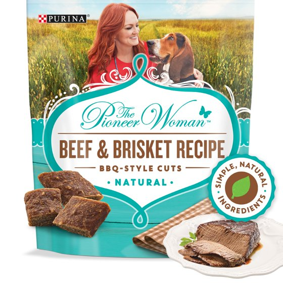 Grain Free, Natural Dog Treats, Beef & Brisket