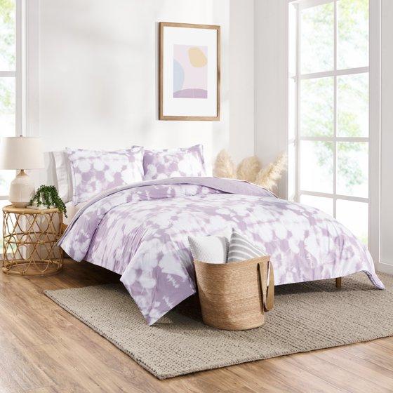 Tie Dye Reversible Comforter Set