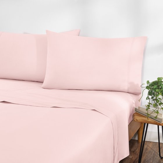 Solid Percale Easy Care Sheet Set, Deep Pocket