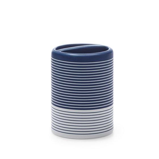 Easy Stripe 3-Piece Bath Accessory Set