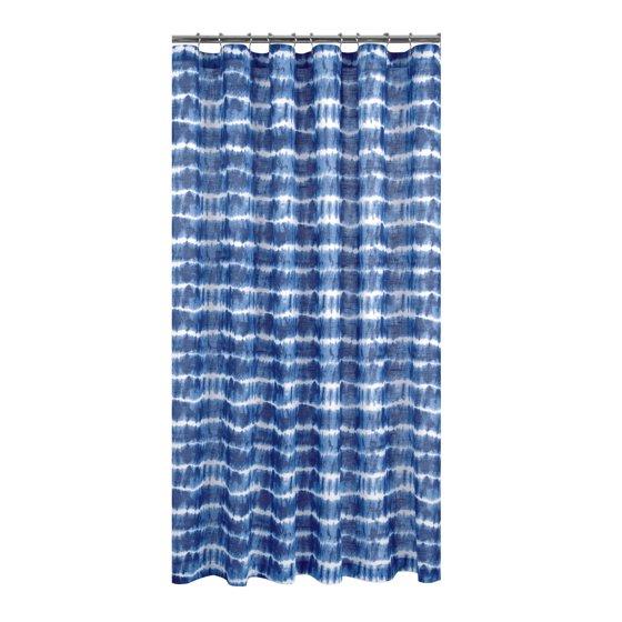 Tie Dye Organic Cotton Shower Curtain