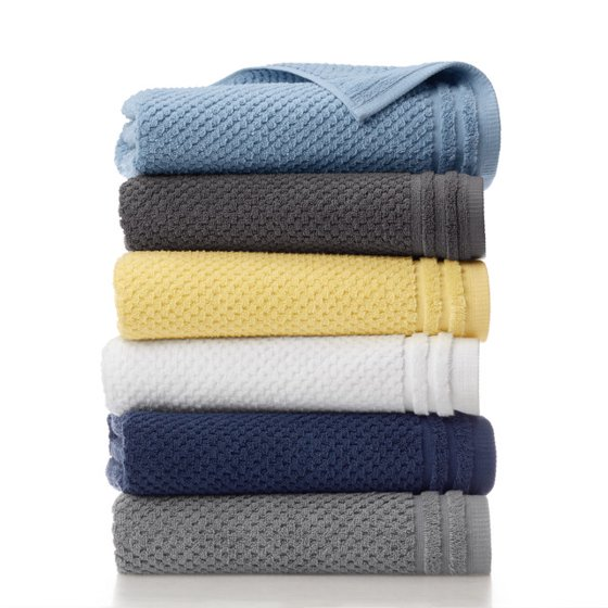Sculpted Organic Cotton 6 Pack Towel Set