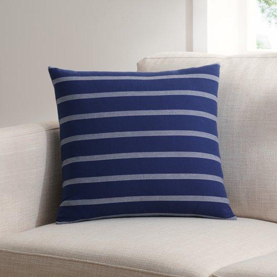 Yarn Dyed Twill Stripe Decorative Pillow