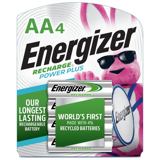 Rechargeable AA Batteries (4 Pack)
