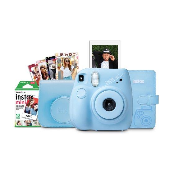 Instax Mini 7+ Camera Bundle
