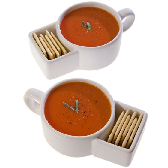 MSR Imports Soup & Cracker Mug Set