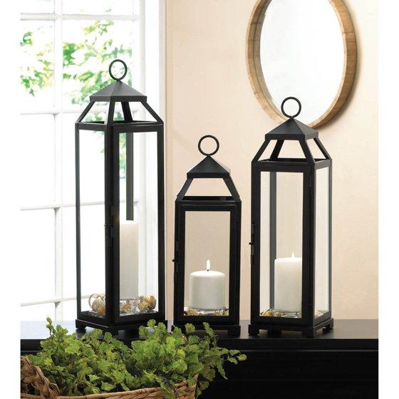 Gallery Of Light - Lean & Sleek Candle Lantern