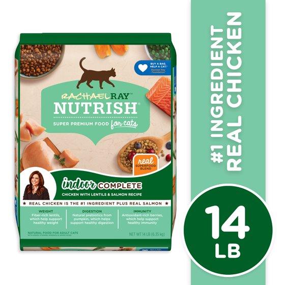 Indoor Complete Natural Premium Dry Cat Food, Chicken With Lentils & Salmon