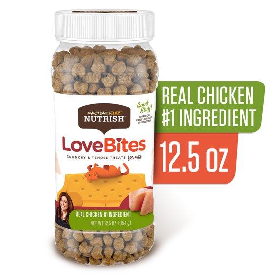 Love Bites Cat Treats, 12.5 Oz Canister
