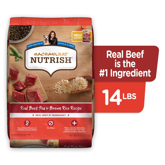 Real Beef, Pea & Brown Rice Recipe Dry Dog Food