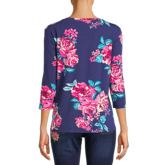 Long Sleeve Top Bundle, 2-Piece, CLASSIC RED & BLUE BERRY