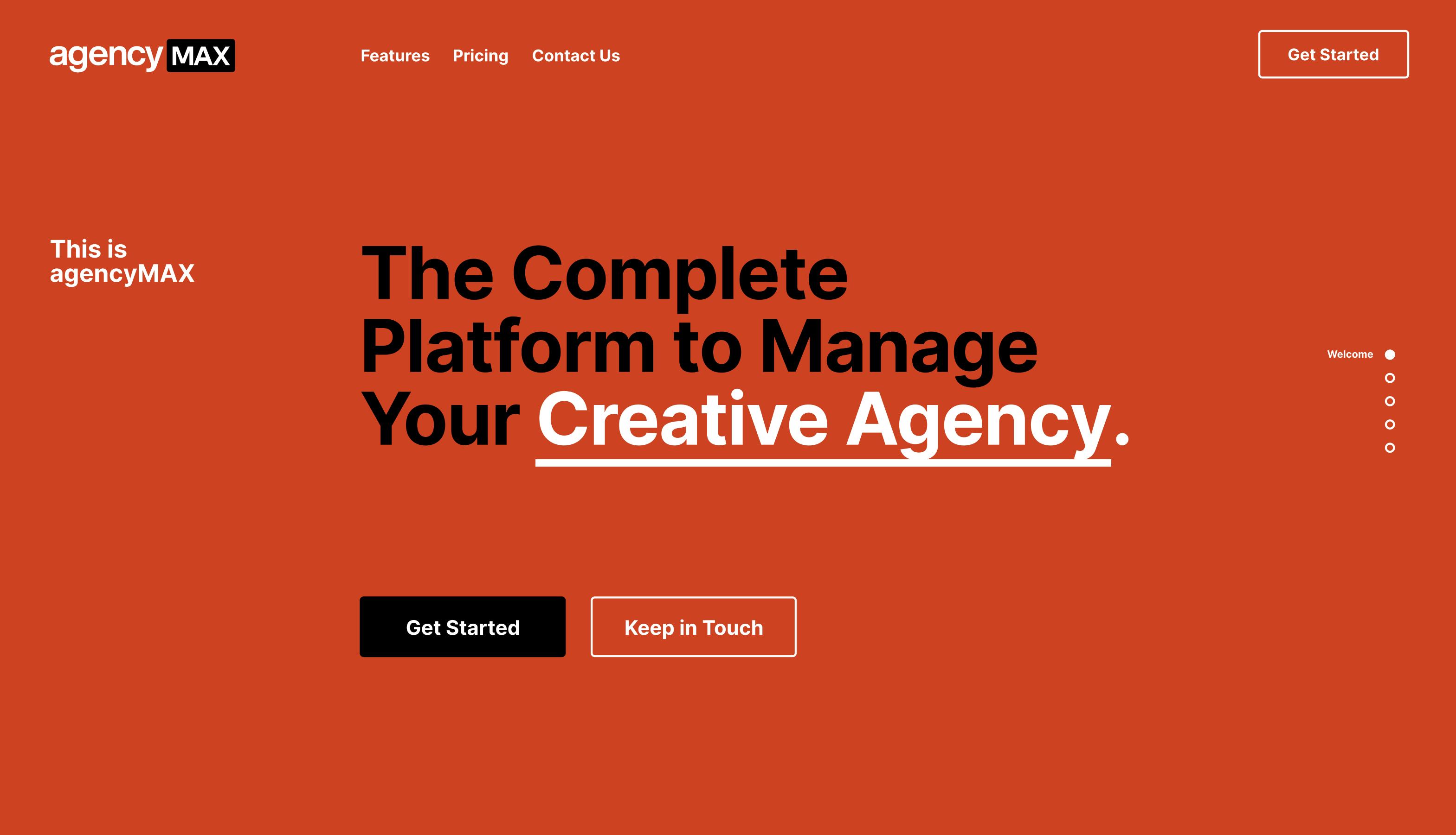 Introducing agencyMAX