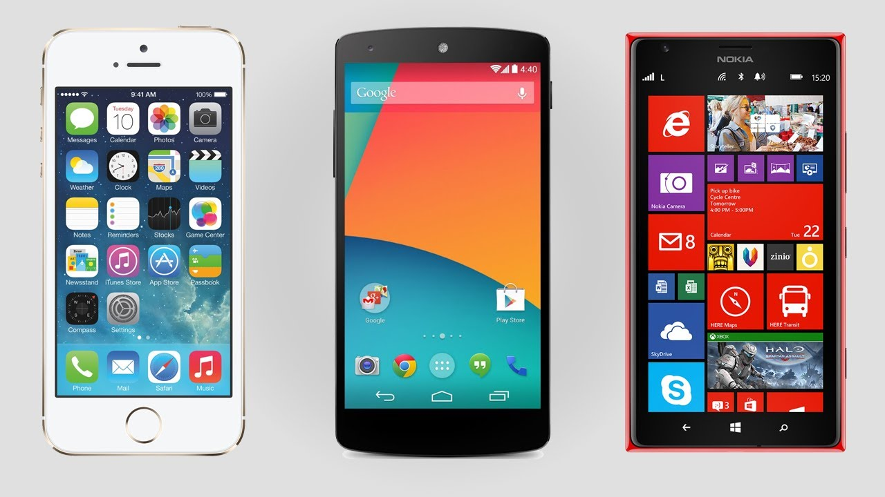 Phone Operating Systems