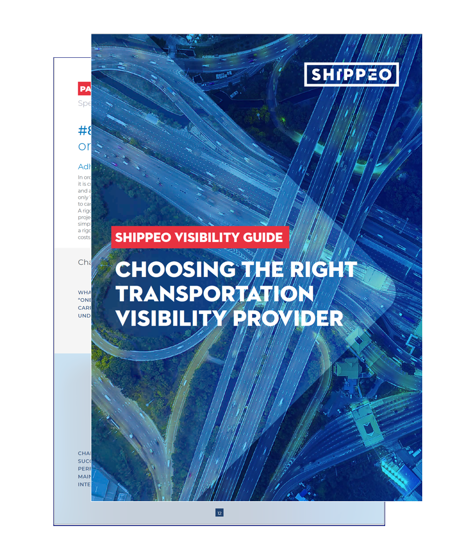 Shippeo | Choosing your visibility provider