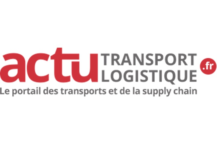 Actu transport logistique logo