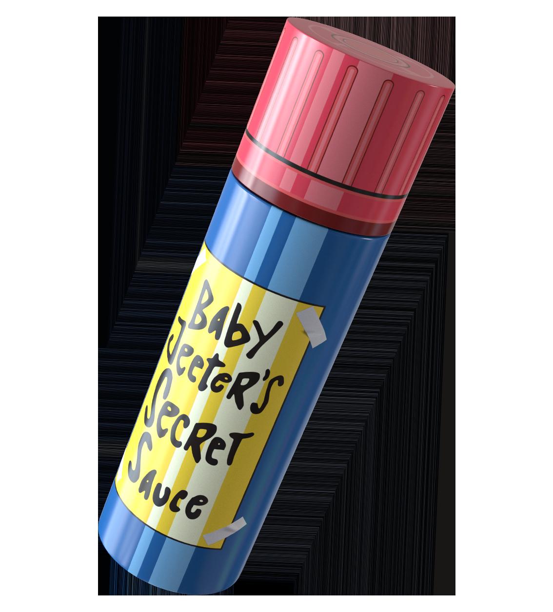 Baby jeeter bottle