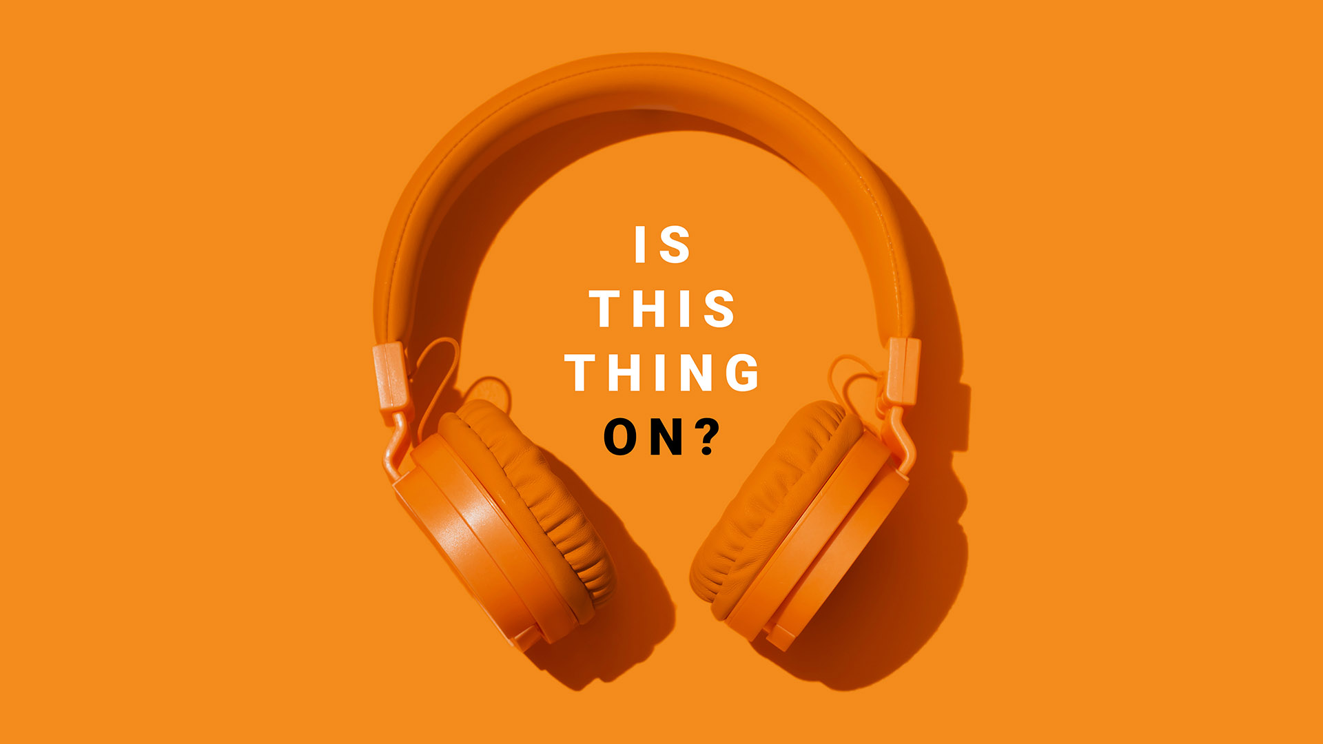 """Introducing GALE's New Audio Series, """"Is This Thing On?"""""""