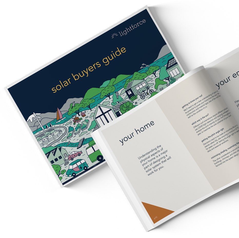 solar buyers guide collateral