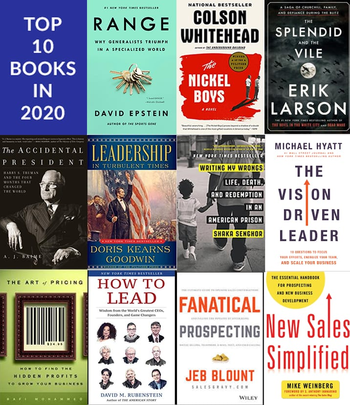 Learnit CEO's Top 10 Books in 2020