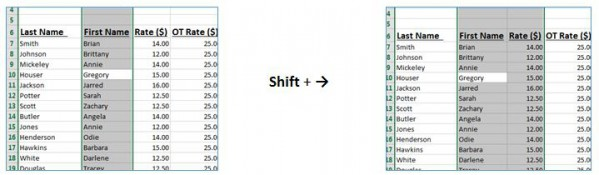 excel shortcuts 9