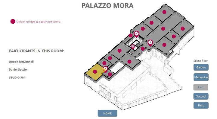 Palazzo Mora Wayfinding powered by Intuiface