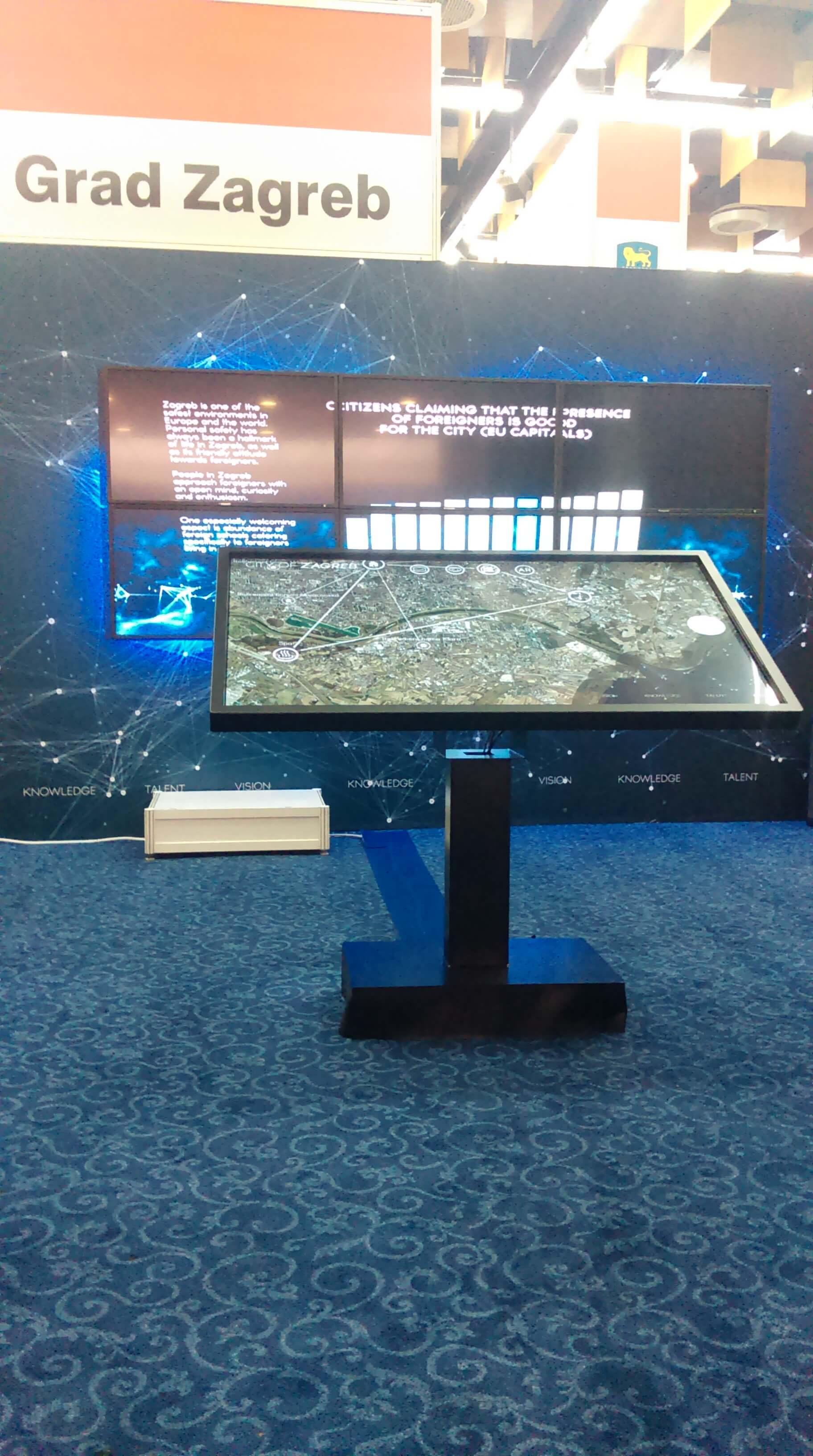 Interactive City Presentation - Intuiface Software
