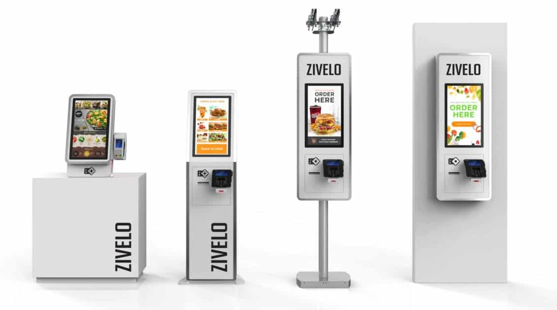 Zivelo Kiosk powered with Intuiface