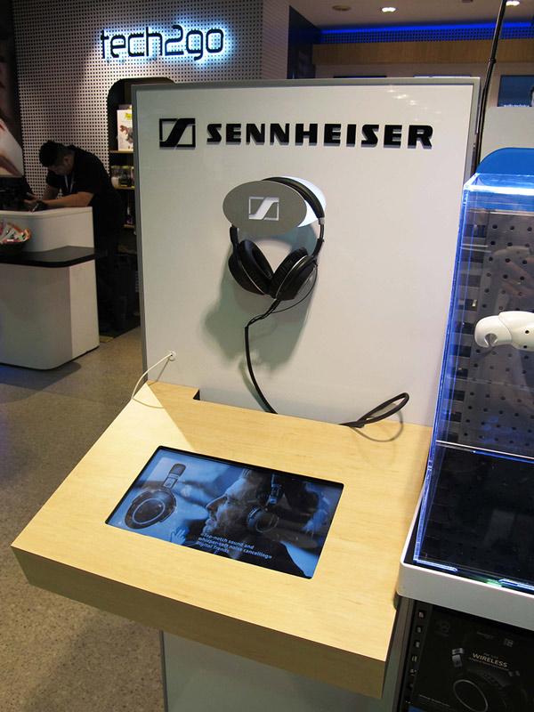 Sennheiser's Intuiface powered interactive demo