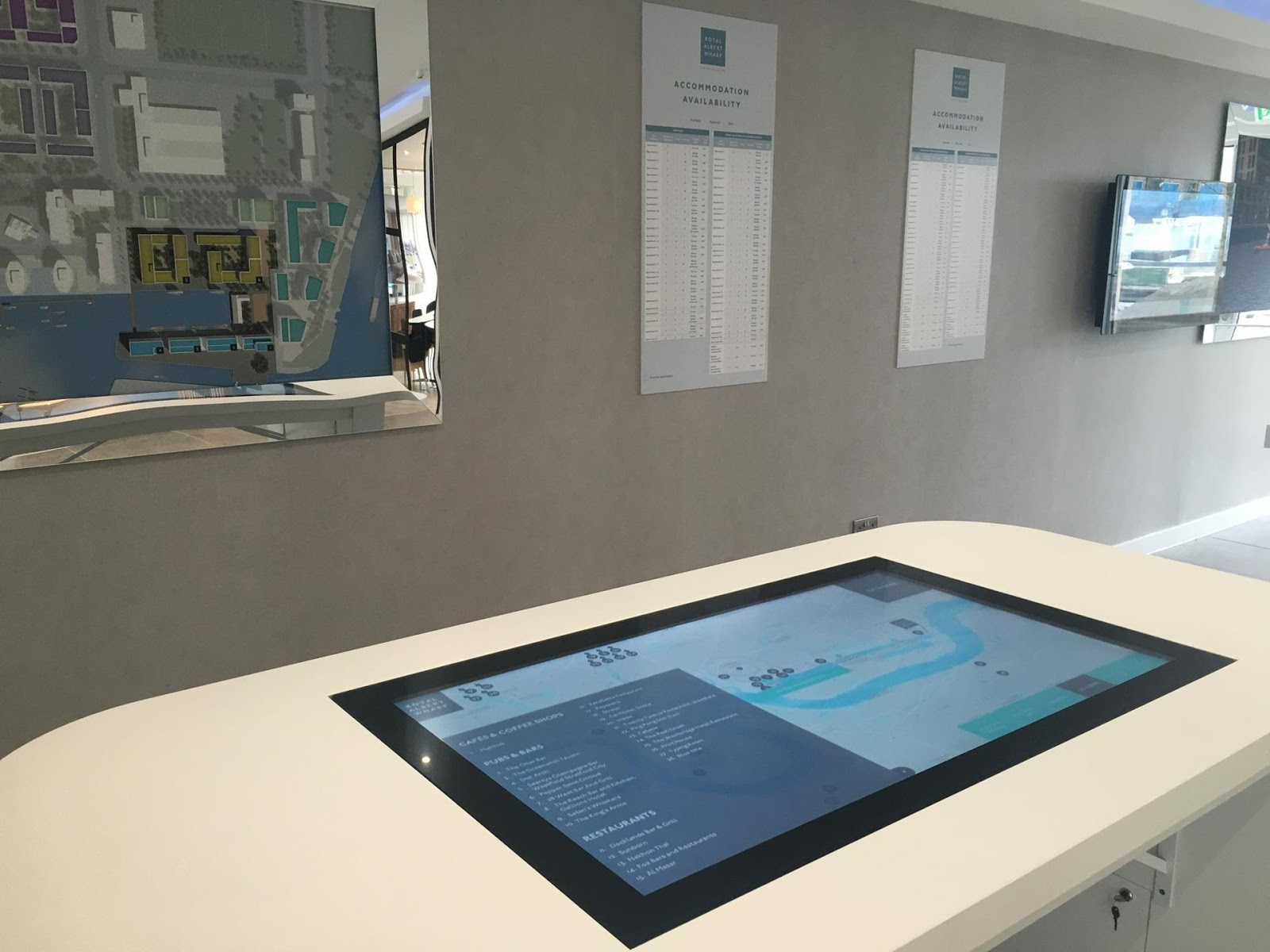 Interactive Presentation was built to showcase residential properties
