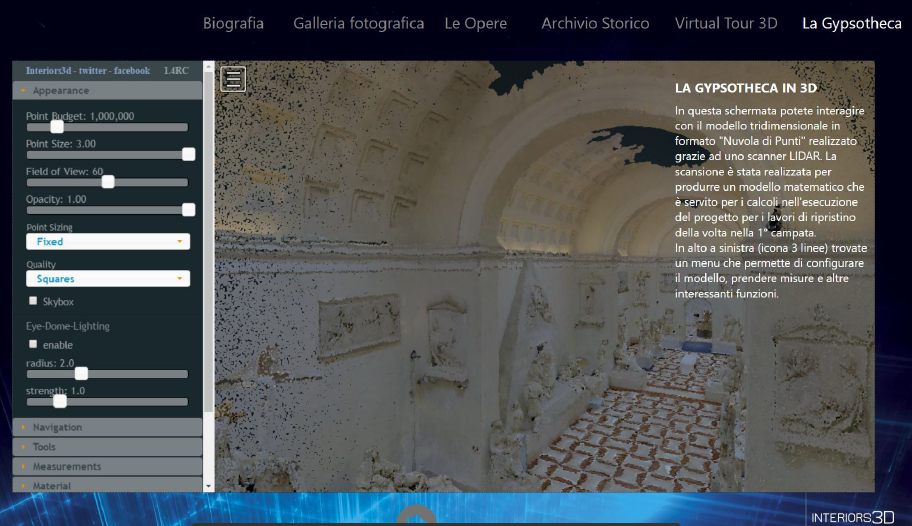 Intuiface Interactive Content for the Antonio Canova Museum