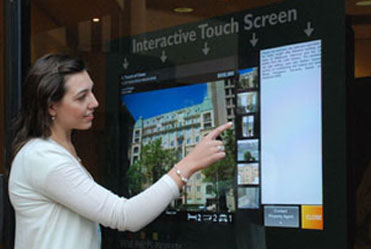 Preview at the latest Interactive Real Estate Touch Screen
