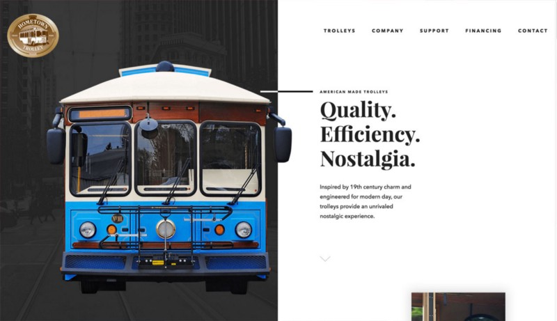 Homtowntrolley homepage