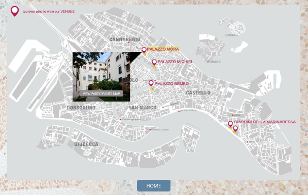 Interactive Map powered by Intuiface