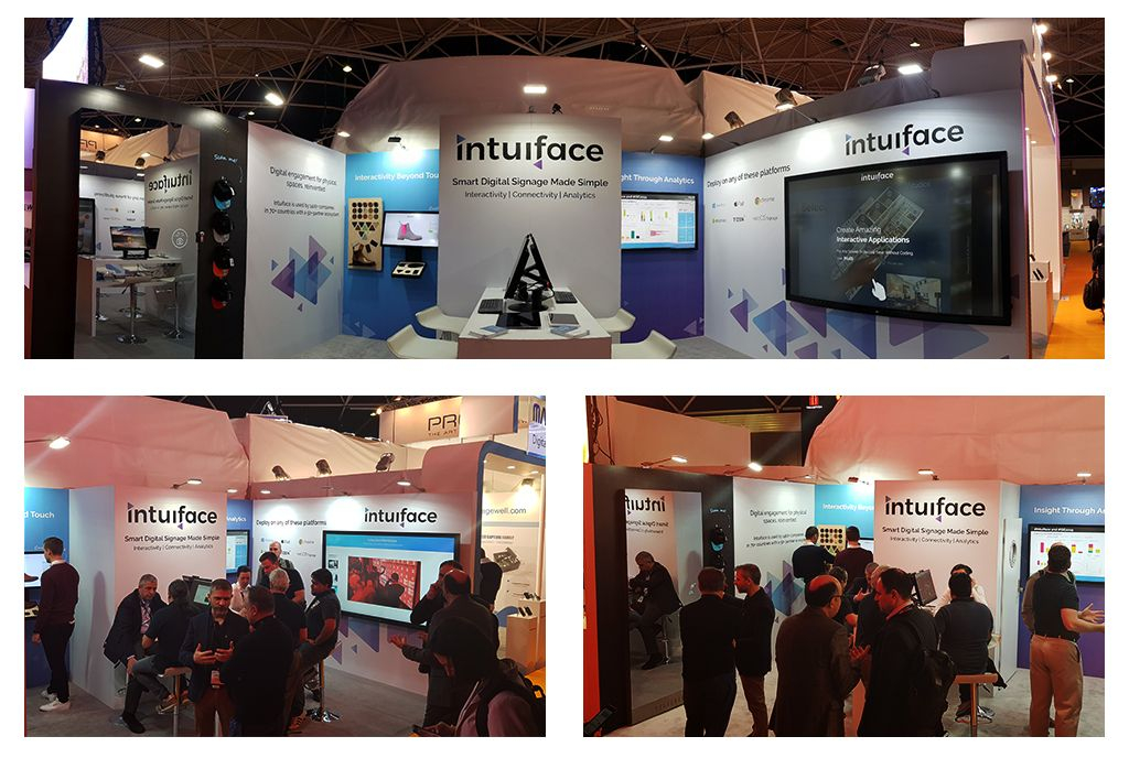 Intuiface at ISE 2019 Amsterdam