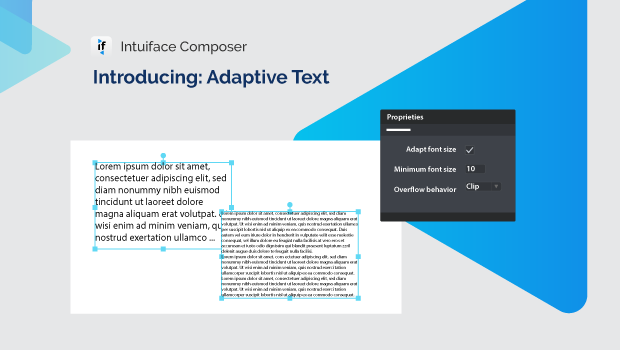 Getting to know Adaptive Text