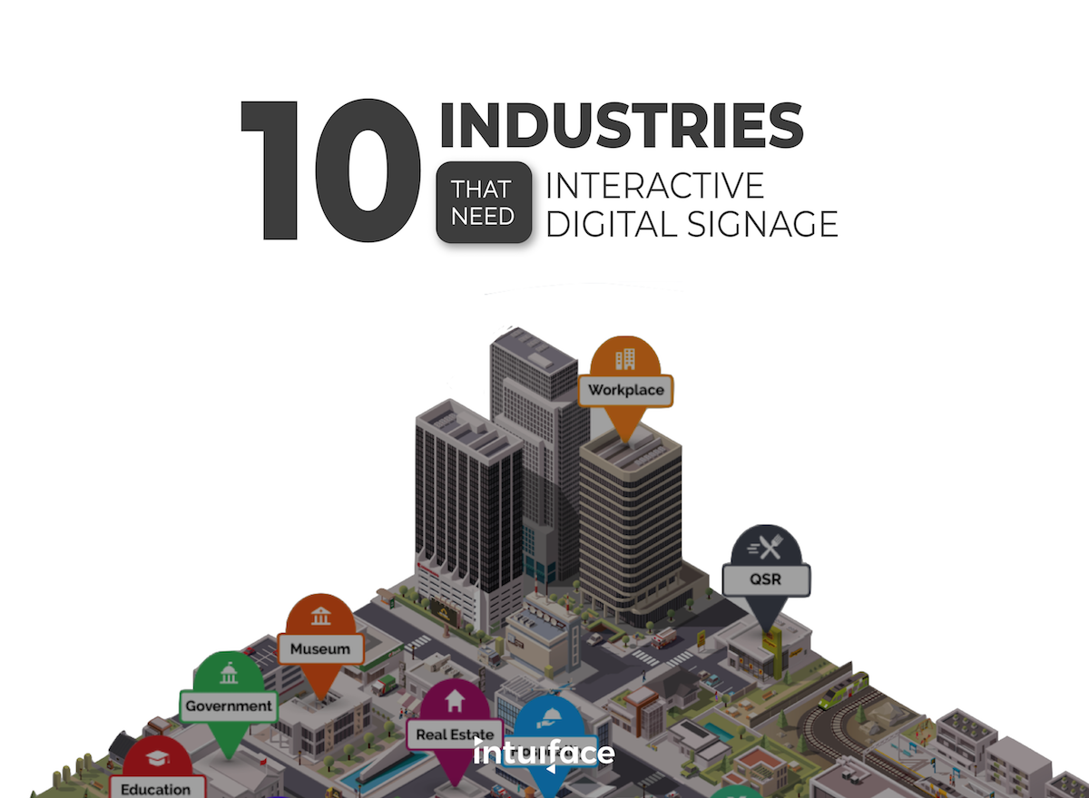 10 Industries that need Interactive Digital Signage