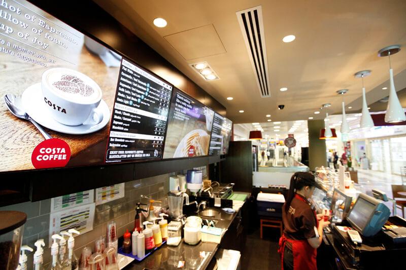 interactive digital menu