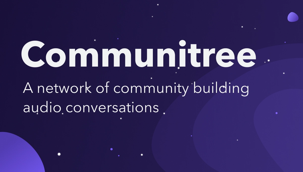 Introducing Communitree: a network of community conversations