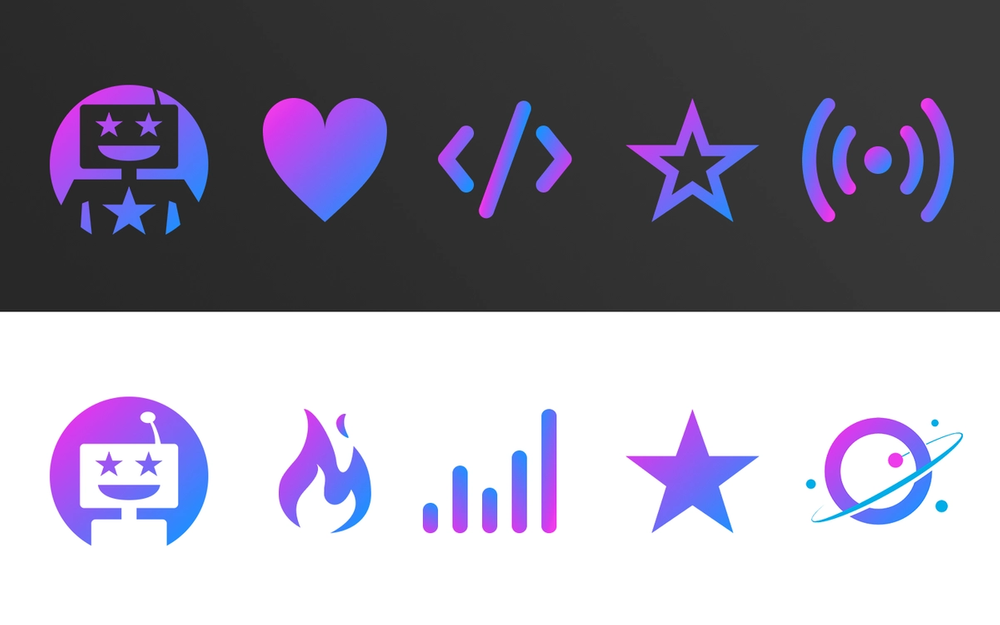 Download these Orbit Model icons for your Slack workspace
