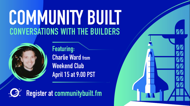 Community Built: Real down to earth and practical conversations with community builders
