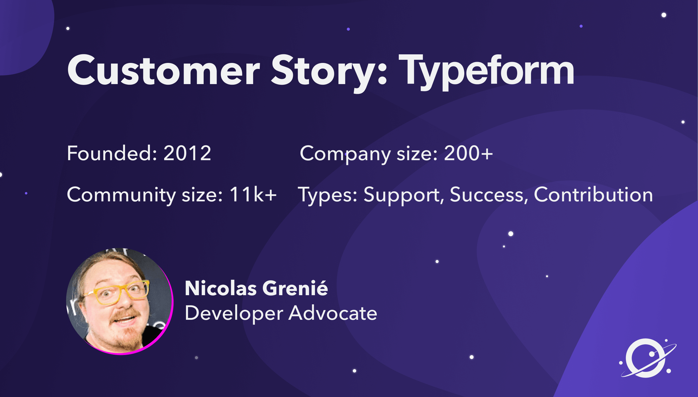 How Typeform Got a Complete View of their Community using Orbit