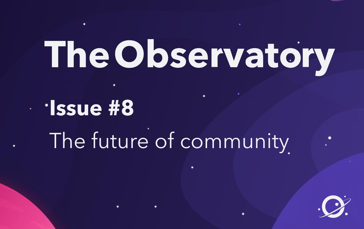 The future of community