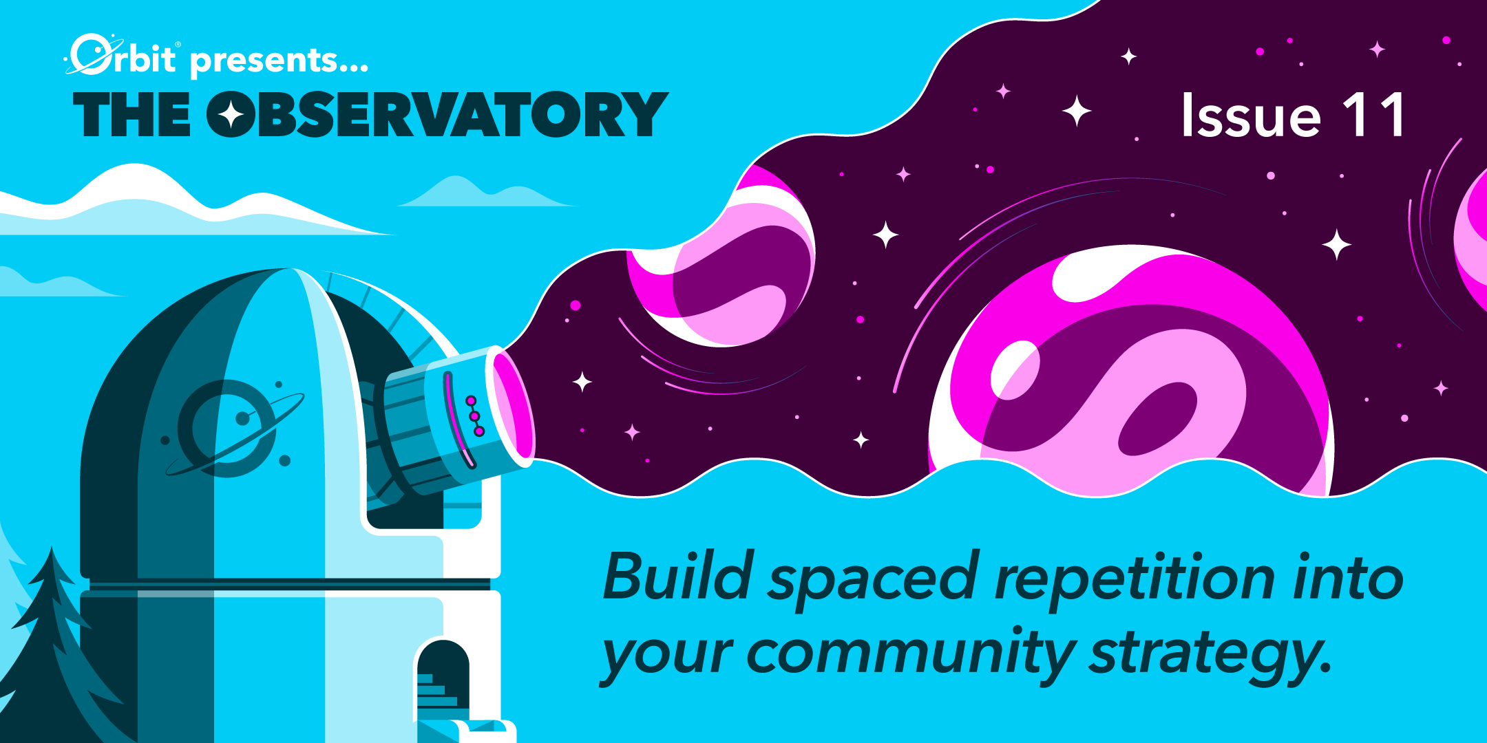 Build spaced repetition into your community