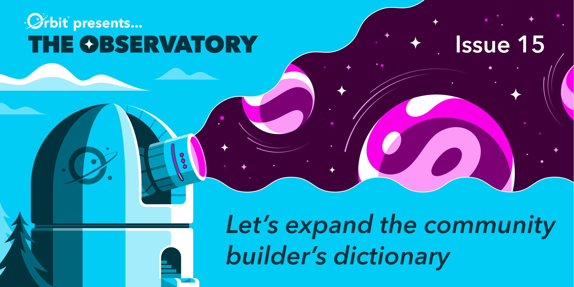 Let's expand the community builder's dictionary