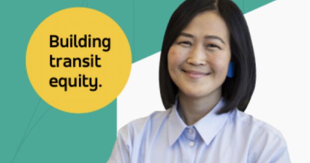 Building transit equity webinar photo.