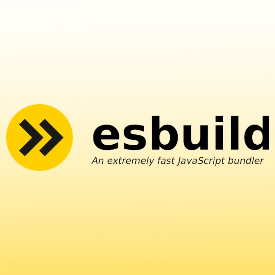 esbuild: A Fast Javascript Bundler Suitable for Large Projects